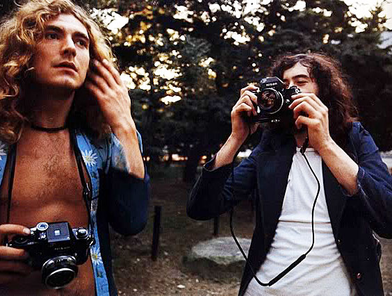 Robert and Jimmy with Nikon F2's