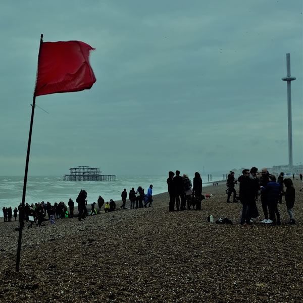 Brighton Christmas Day 2017