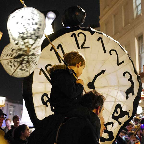 When is Burning the Clocks Brighton?