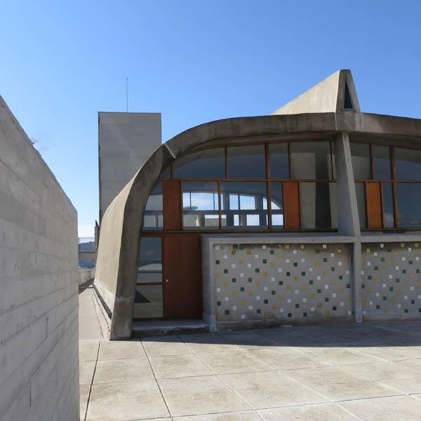 The Unité d'habitation Marseilles by Corbusier