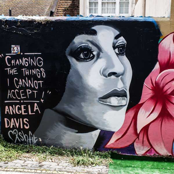 Angela Davis Artwork